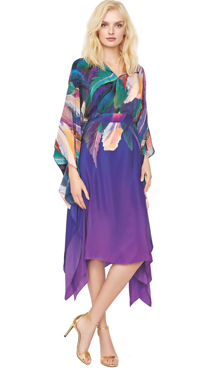 Gottex Beach Dress Macaw
