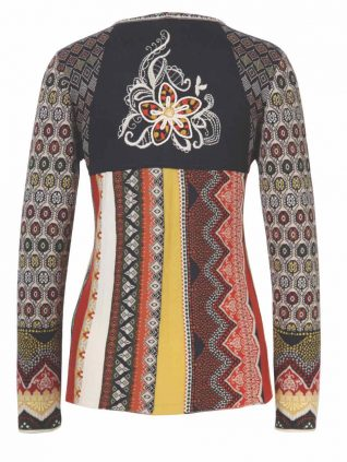 IVKO Cardigan with Embroidery