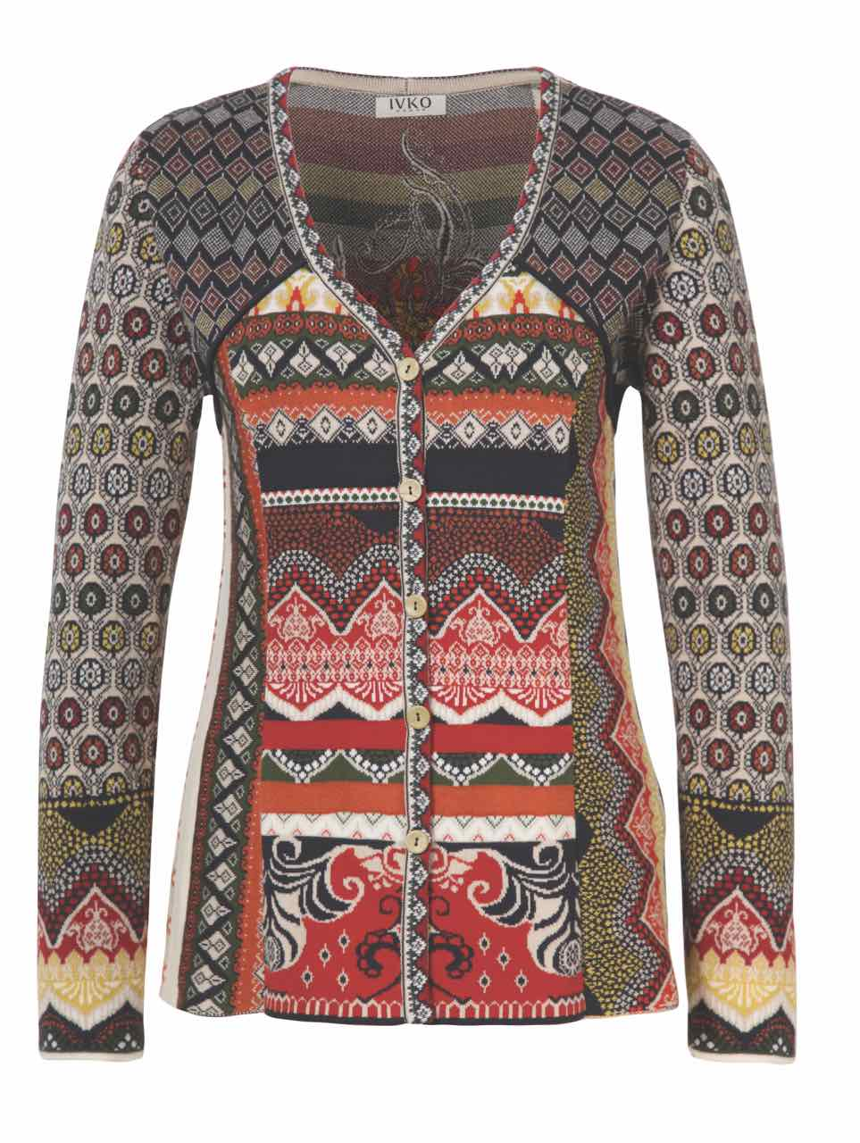 IVKO Jacket with Embroidery