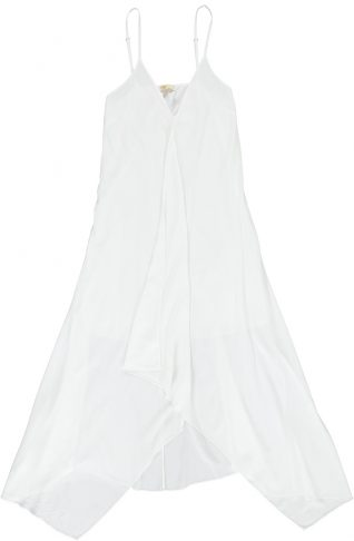 19-66403G M Made in Italy Dress White