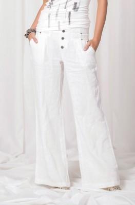 Angels Never Die Linen Summer Pants
