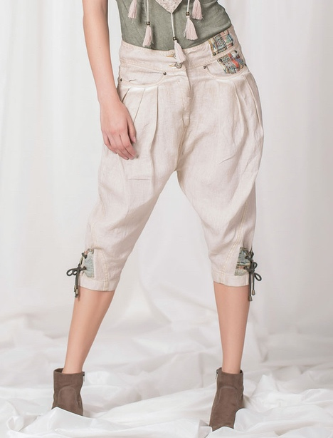 Angels Never Die Linen Pants