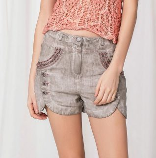 Angels Never Die Safari Shorts