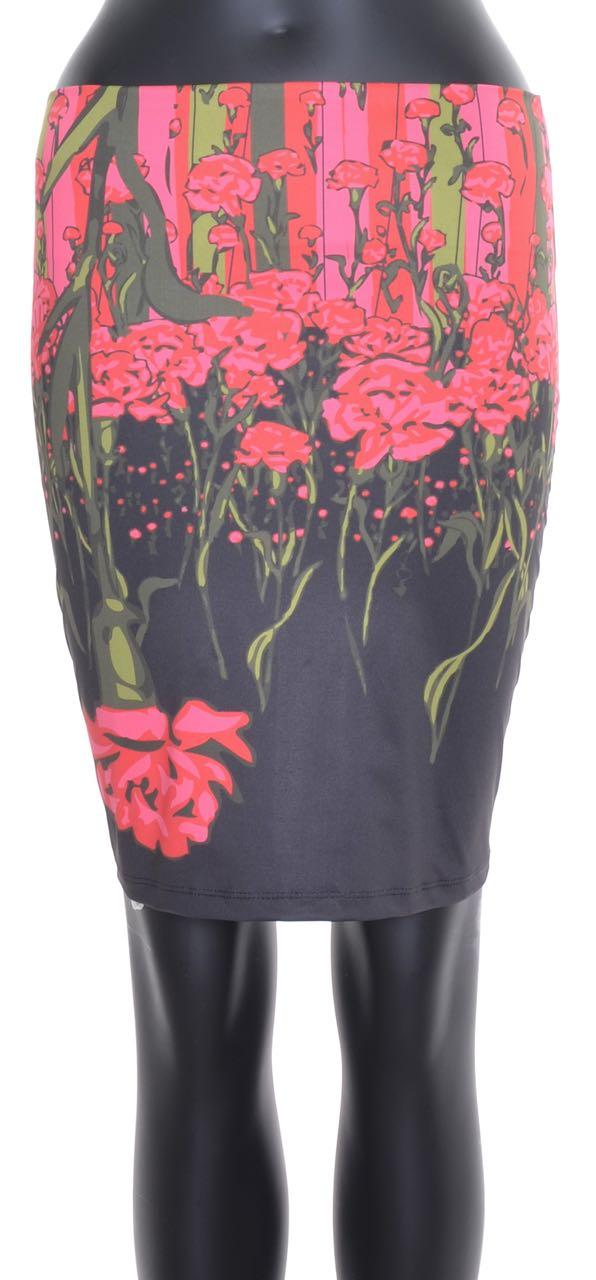 VOLT Design Black Red Skirt