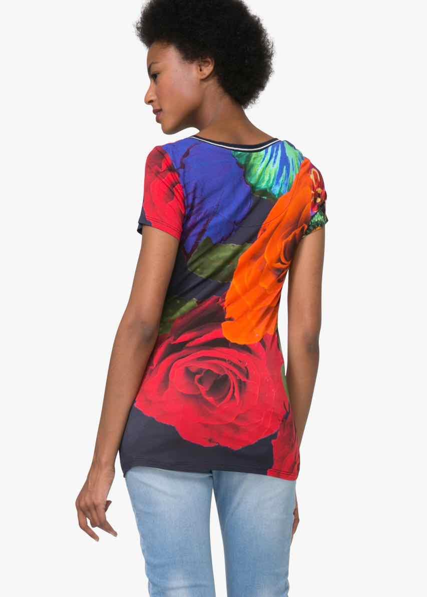 desigual t shirt mayte 72t2ef6 buy online canada. Black Bedroom Furniture Sets. Home Design Ideas