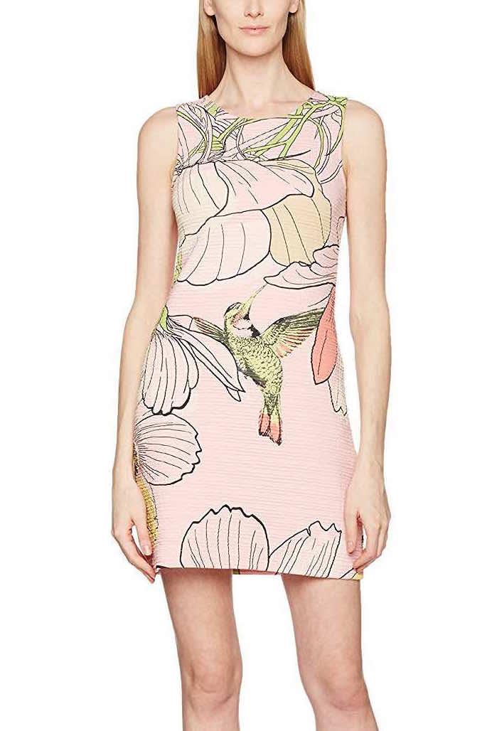 Desigual Dress Menta, Pink