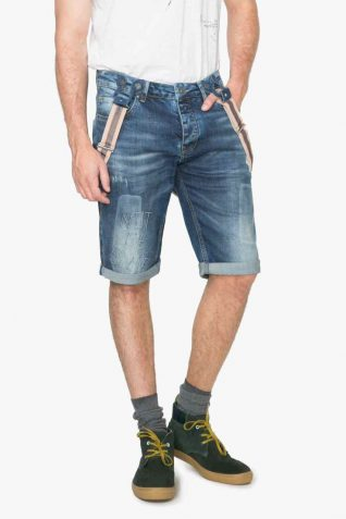 74D18A5_5053 Desigual Man Bermuda Denim Shorts Obduli Buy Online