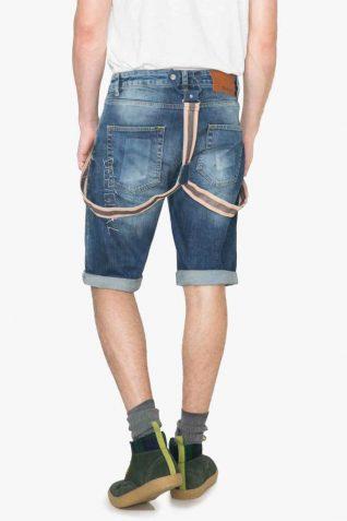 74D18A5_5053 Desigual Man Bermuda Denim Shorts Obduli Canada