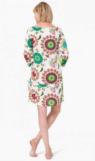 74M2WA4_1000 Desigual Beacj Dress Kaftan Gala Canada