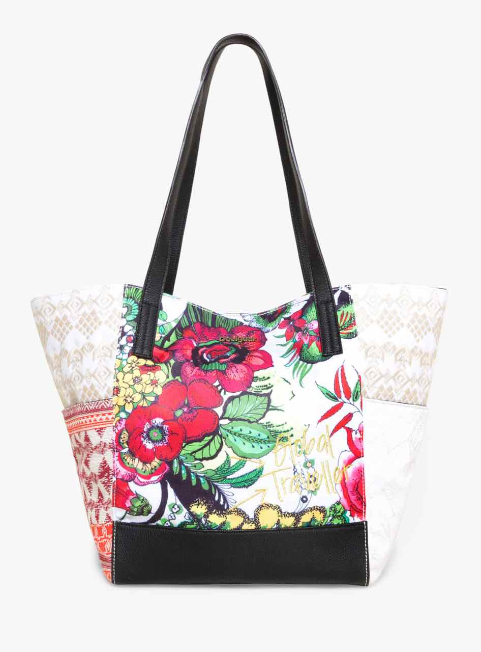 74X9EQ0_3098 Desigual Shopper Bag Orlando Madeira Buy Online