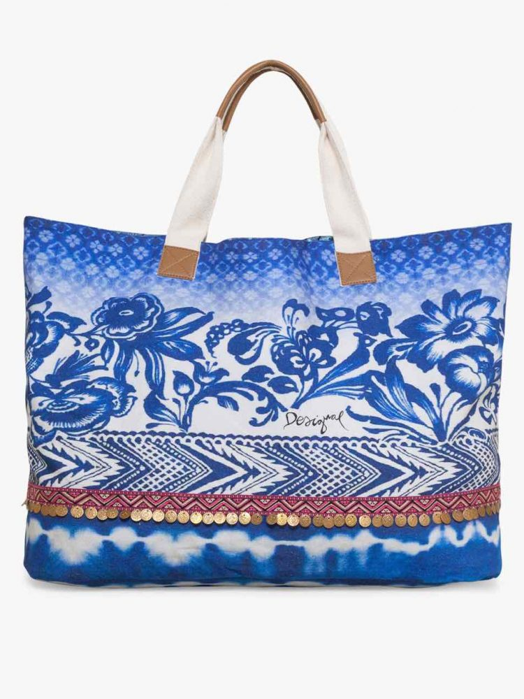 74X9WW1_5000 Desigual Shopper Bag Altea Turner Canada