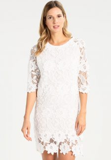 Desigual White Lace Dress