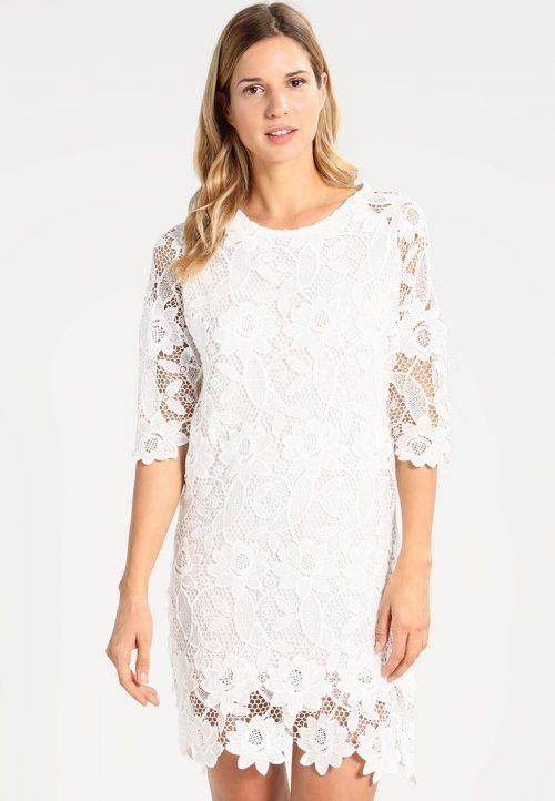 Desigual White Lace Dress