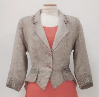 Angels Never Die Linen Jacket, Buy online