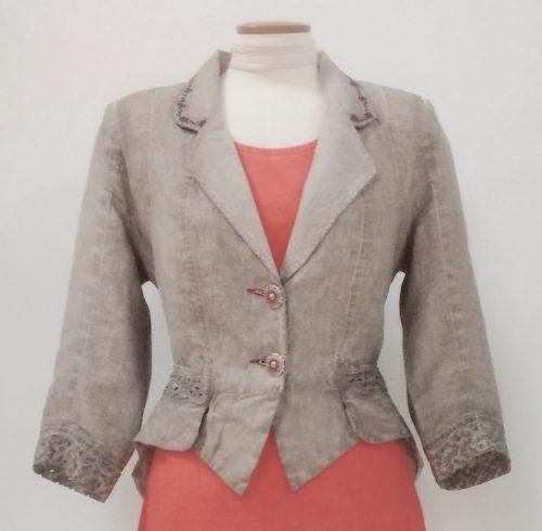 Angels Never Die Linen Jacket, Buy online