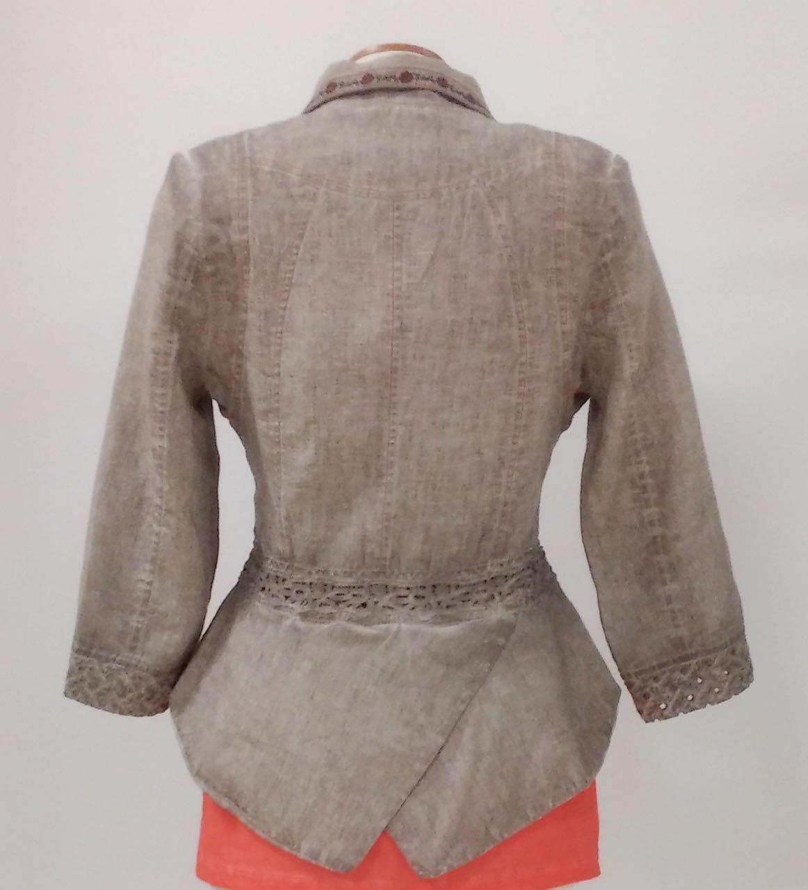 ANVRDIE Linen Jackets, Canada US