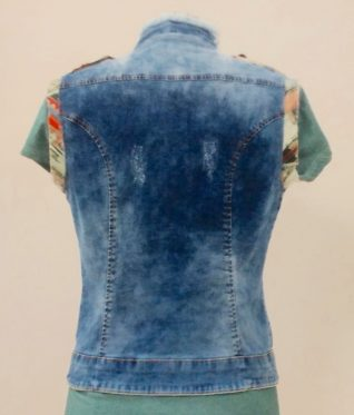 Angel Never Die Denim Vest