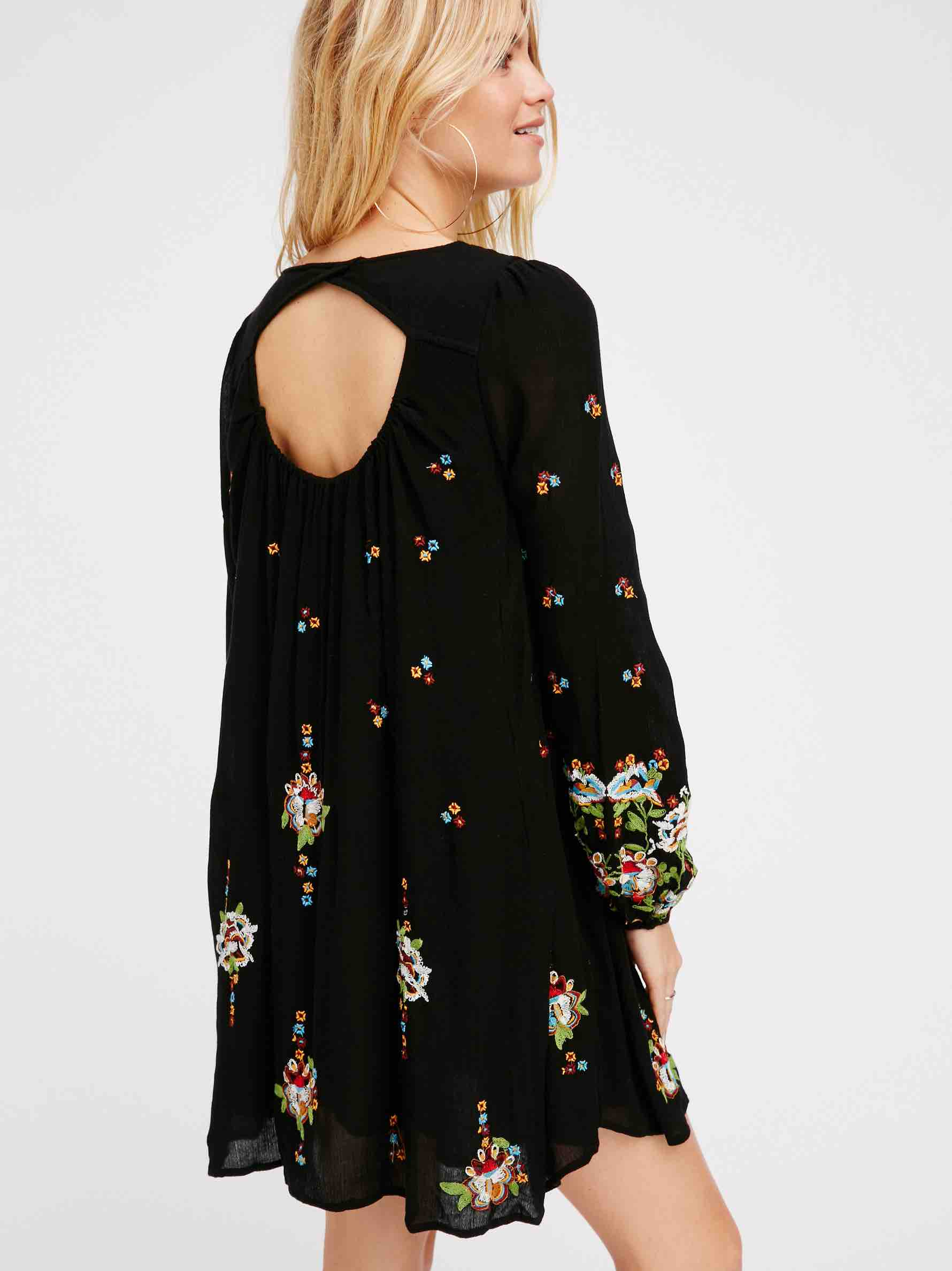 Free People Oxford Embroidered Mini, Buy online