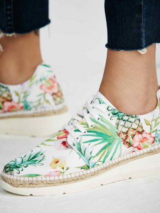 Free People Sneakers Jackson White, Canada
