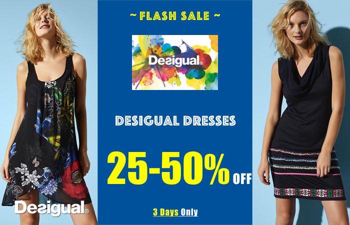 Desigual Dresses Flash Sale, Spring 2017