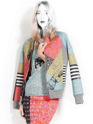 VOLT Design Sweat Jacket