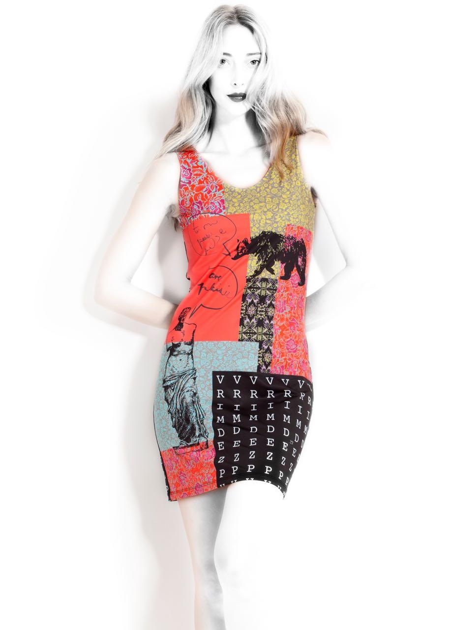 VOLT Design Fitted Dress