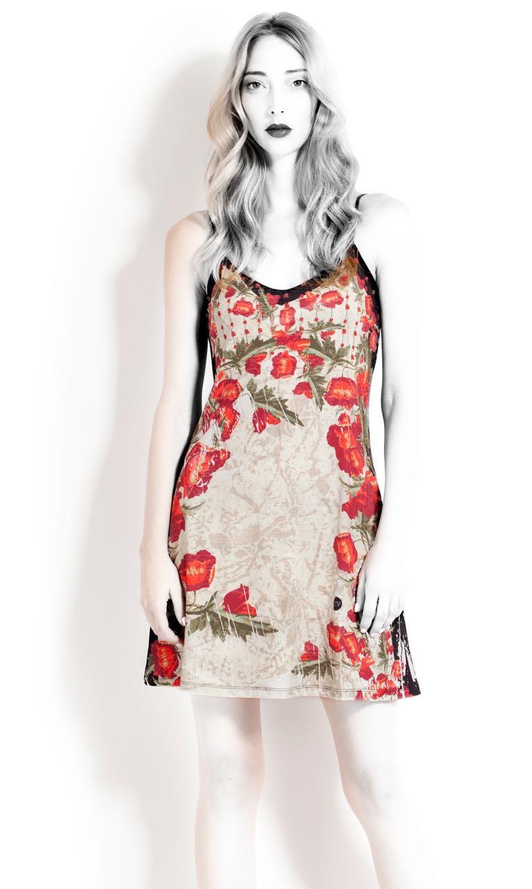 VOLT Design Strap Dress, Summer 2017