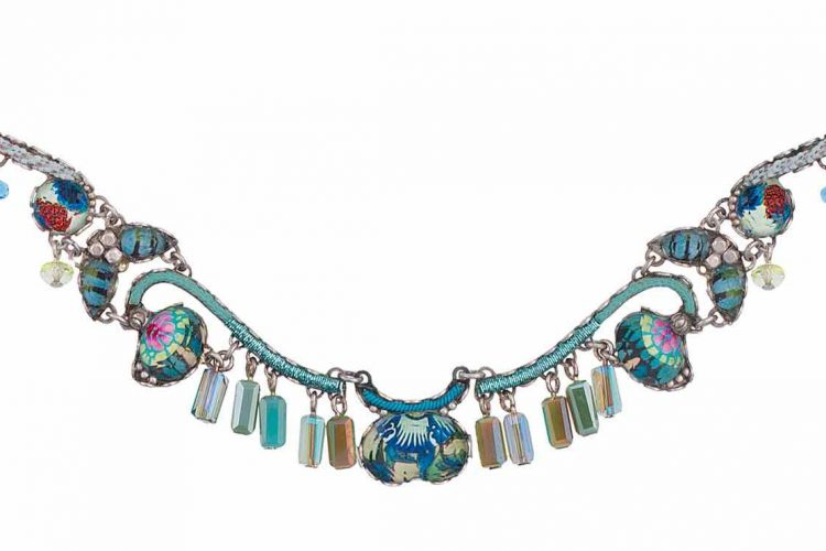 Ayala Bar Necklace Radiance Caspian