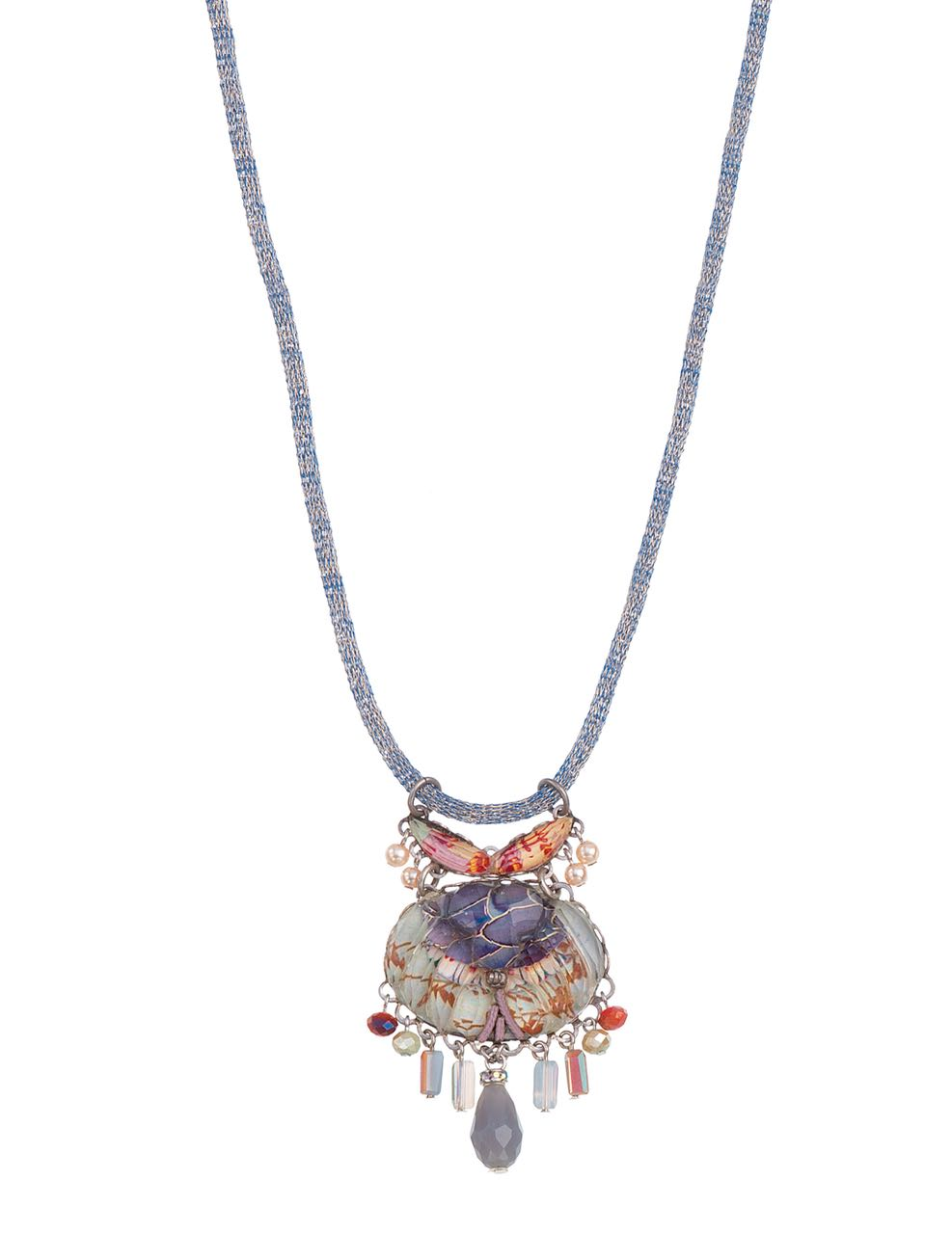 Ayala Bar Necklace Angelonia Radiance