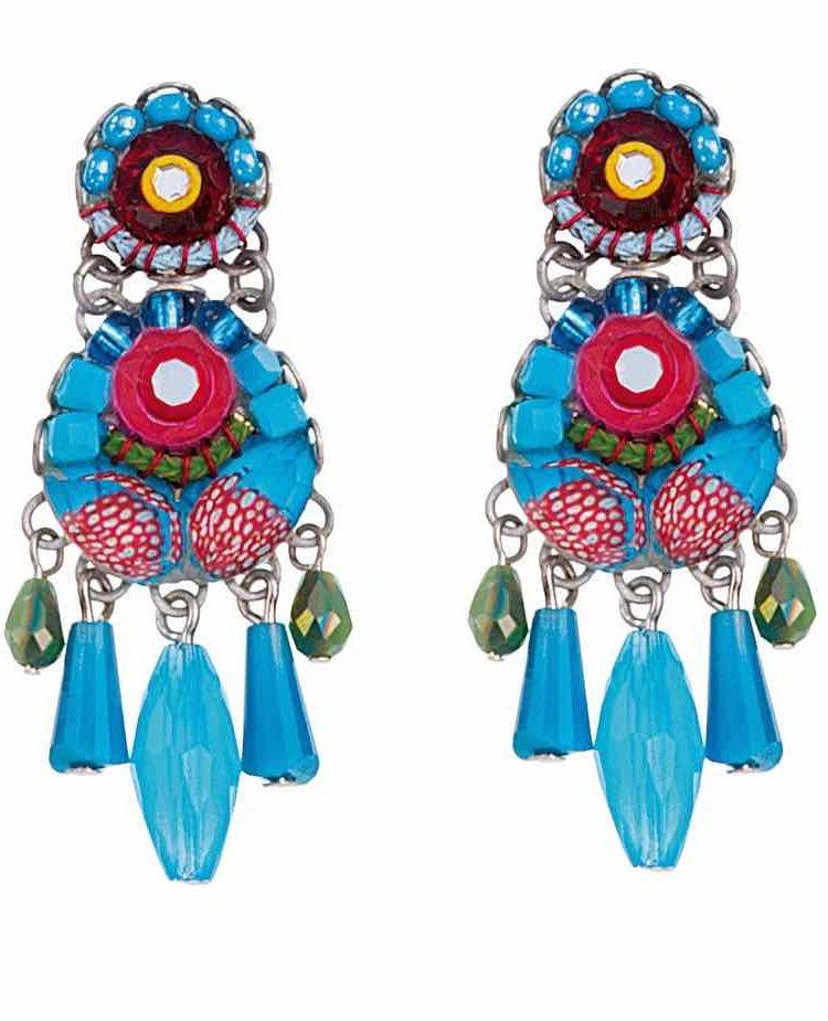 Ayala Bar Earrings Cornflower
