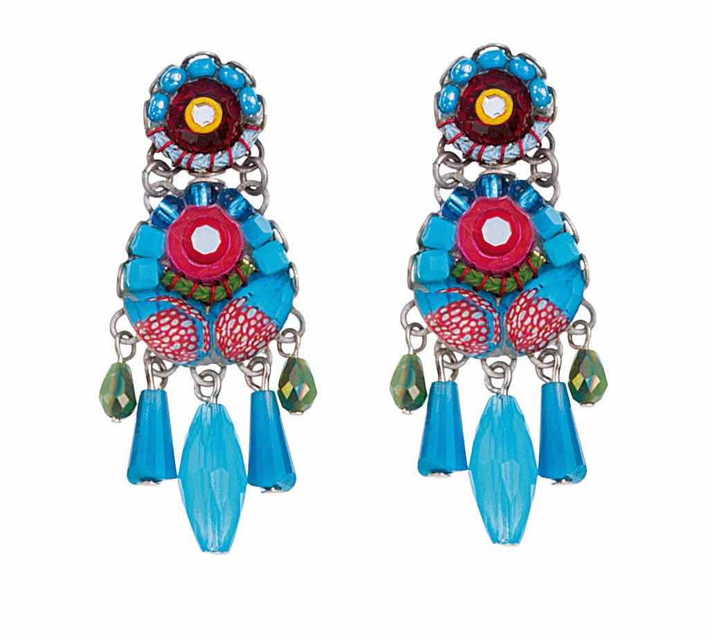 Ayala Bar Earrings Cornflower