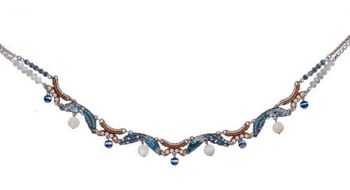 Ayala Bar Blue Necklace