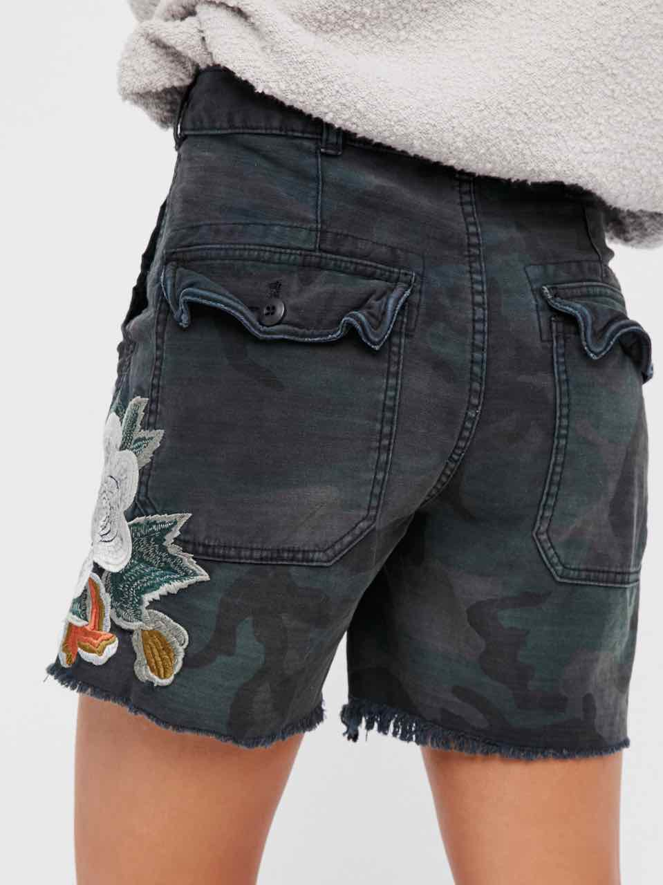 Free People Embroidered Scout Shorts Ob585957 Buy Online