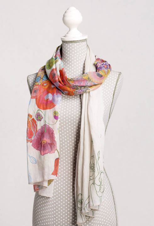 IVKO Off White Summer Scarf