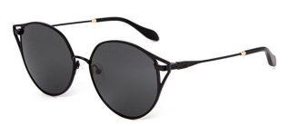 Sonix Black Aviator Style sunglasses