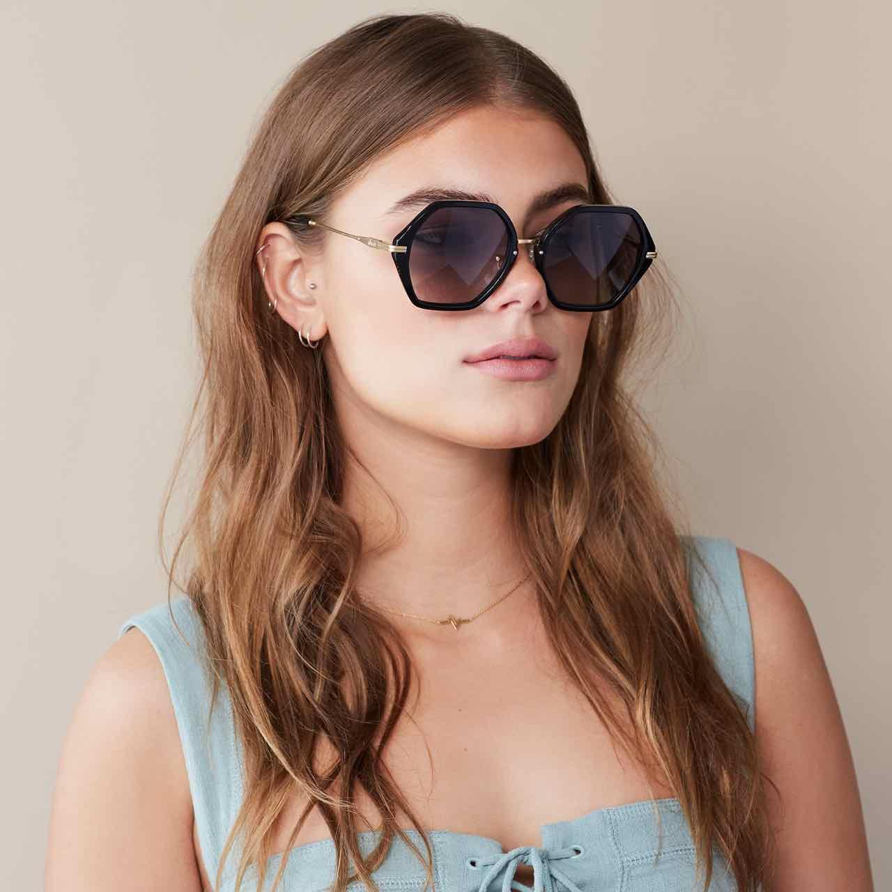 b1e7b629a8 SONIX Sunglasses WILLOW Black Frame Black Lenses