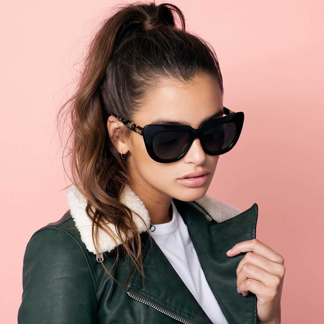 994cdd22f3 SONIX Sunglasses COCO Black Frame Black Lenses