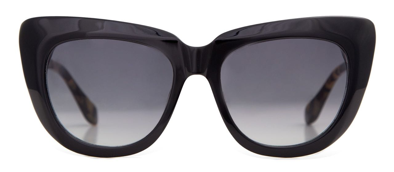 Sonix Black Coco Sunglasses