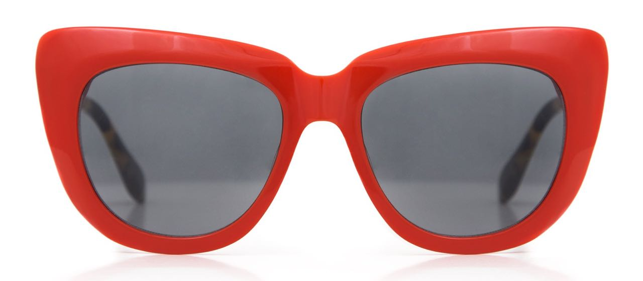 Sonix sunnies Coco Cherry Red