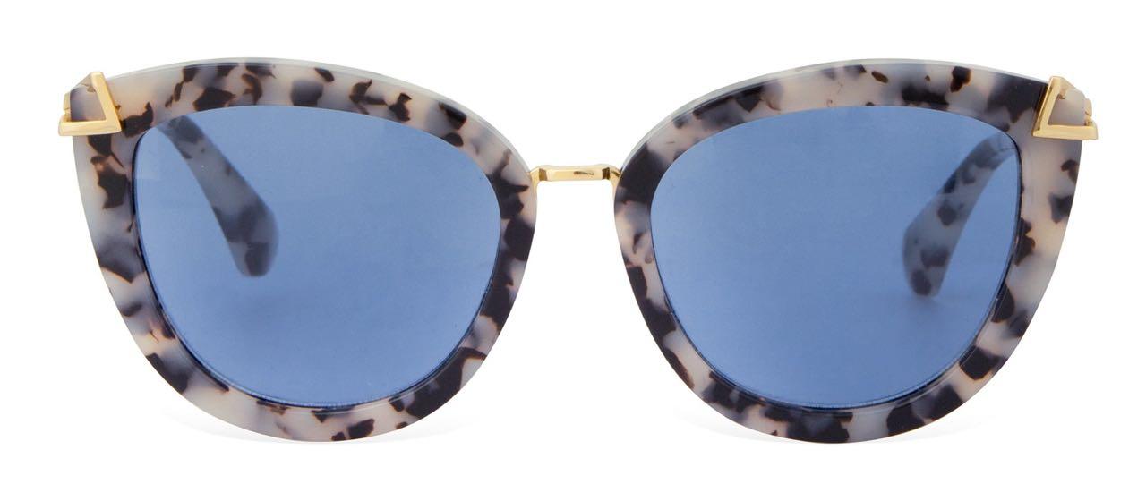 Sonix Melrose Sunglasses Tortoise Blue