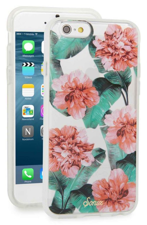 Sonix iPhone cover floral design