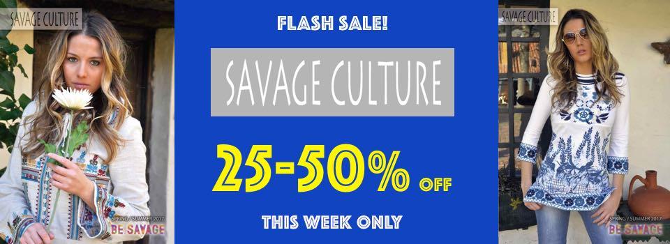 Savage Culture Sale, Canada US