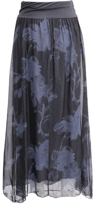 M Made in Italy Skirt 18/9839H Silk