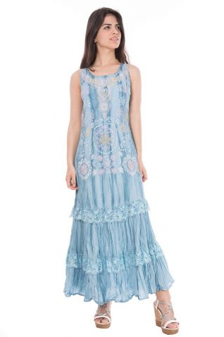 32094 Savage Culture Dress (Blue) Buy Online
