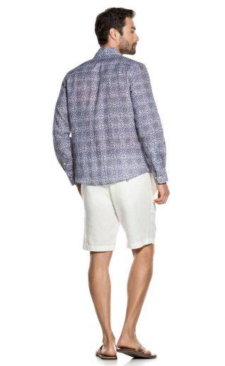 CLH010 MIP 3015 OndadeMar linen shirt Canada