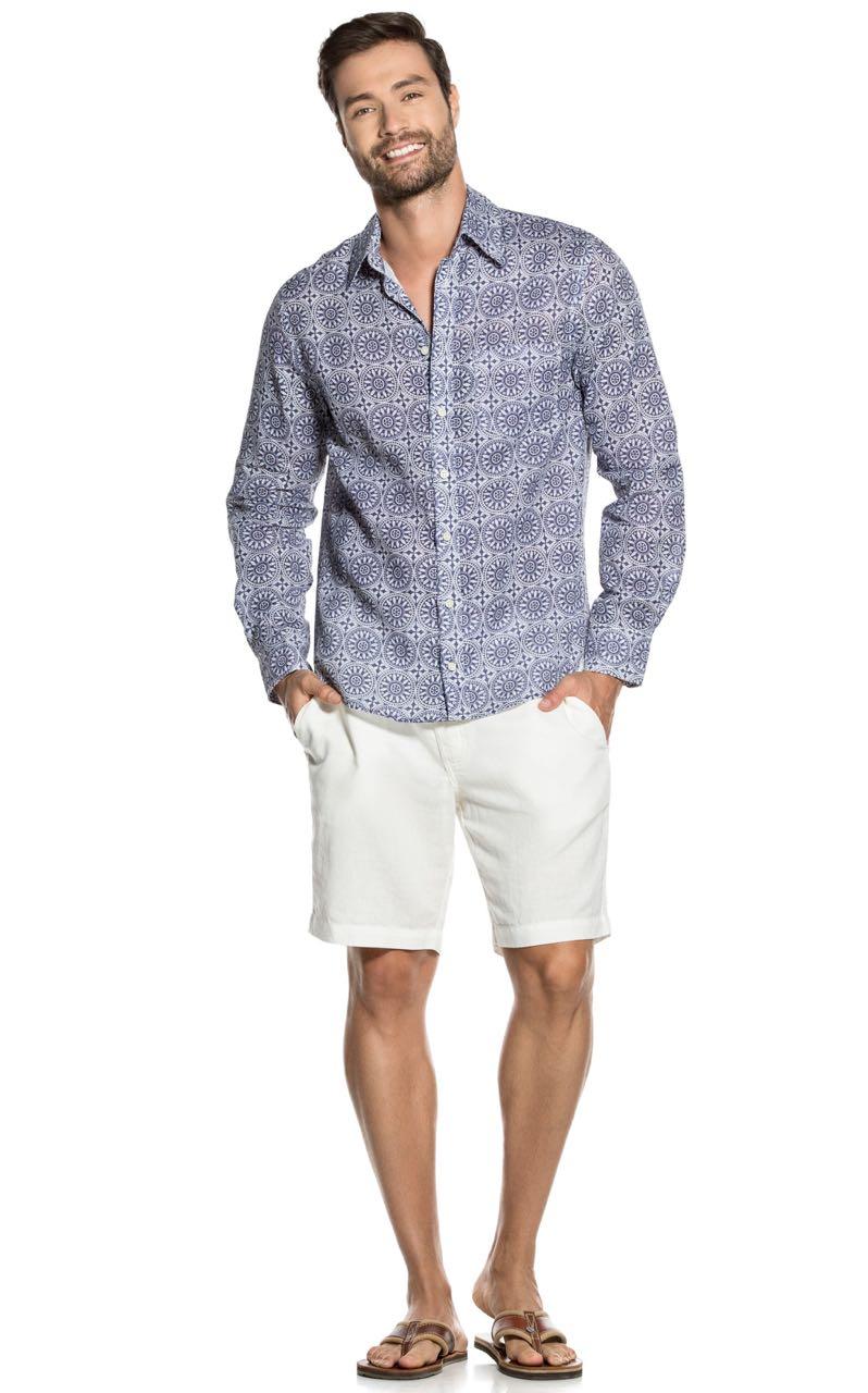 CLH010 MIP 3015 OndadeMar linen shirt Buy Online