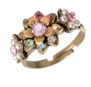 Michal Negrin Floral Start Ring