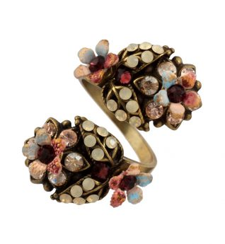 Michal Negrin Spiral Floral Ring, Buy Online
