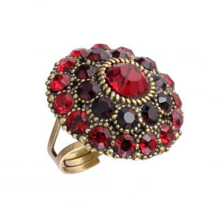 Michal negrin Round Big Red Ring