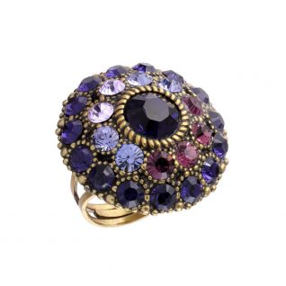 Michal Negrin Purple Round Ring
